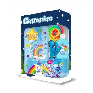 Cottonino Gift Box Unicorn Blue