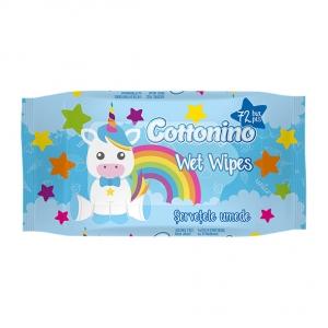 COTTONINO WET WIPES Unicorn Blue