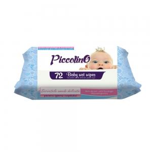 PICCOLINO WET WIPES BLUE