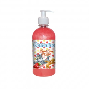 COTTONINO LIQUID SOAP TOM& JERRY STRAWBERRY