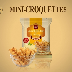 MINI-CROQUETTES WITH CHEESE