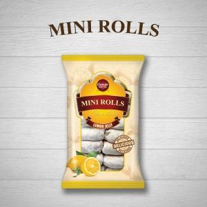 MINI-ROLLS WITH LEMON JELLY