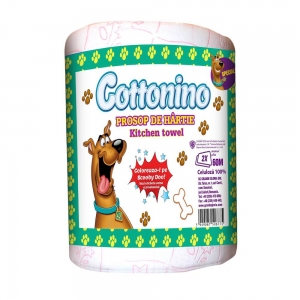 COTTONINO KITCHEN TOWELL ROLL SCOOBY DOO 3