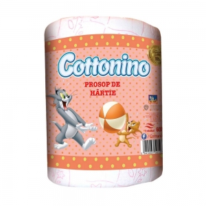 COTTONINO KITCHEN TOWELL ROLL TOM& JERRY