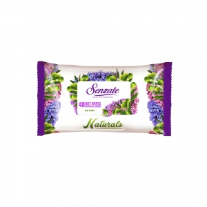 SENZATE LINGETTES LILAC AND OLIVE