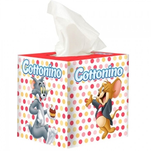 COTTONINO SERVIETTEN BOX T&J ORANGE