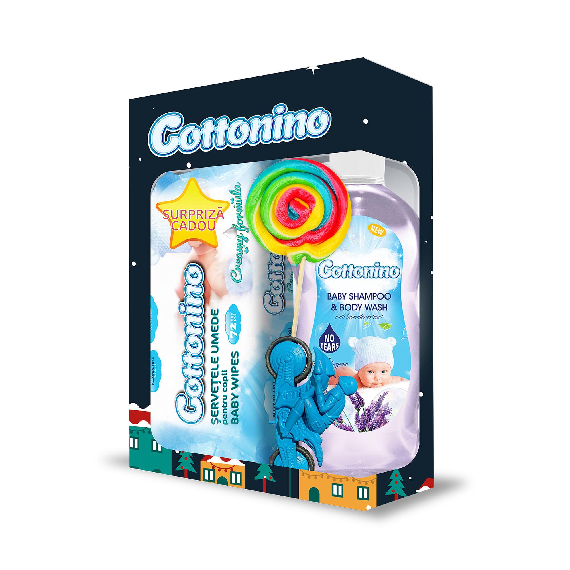 Cottonino Gift Box Blue