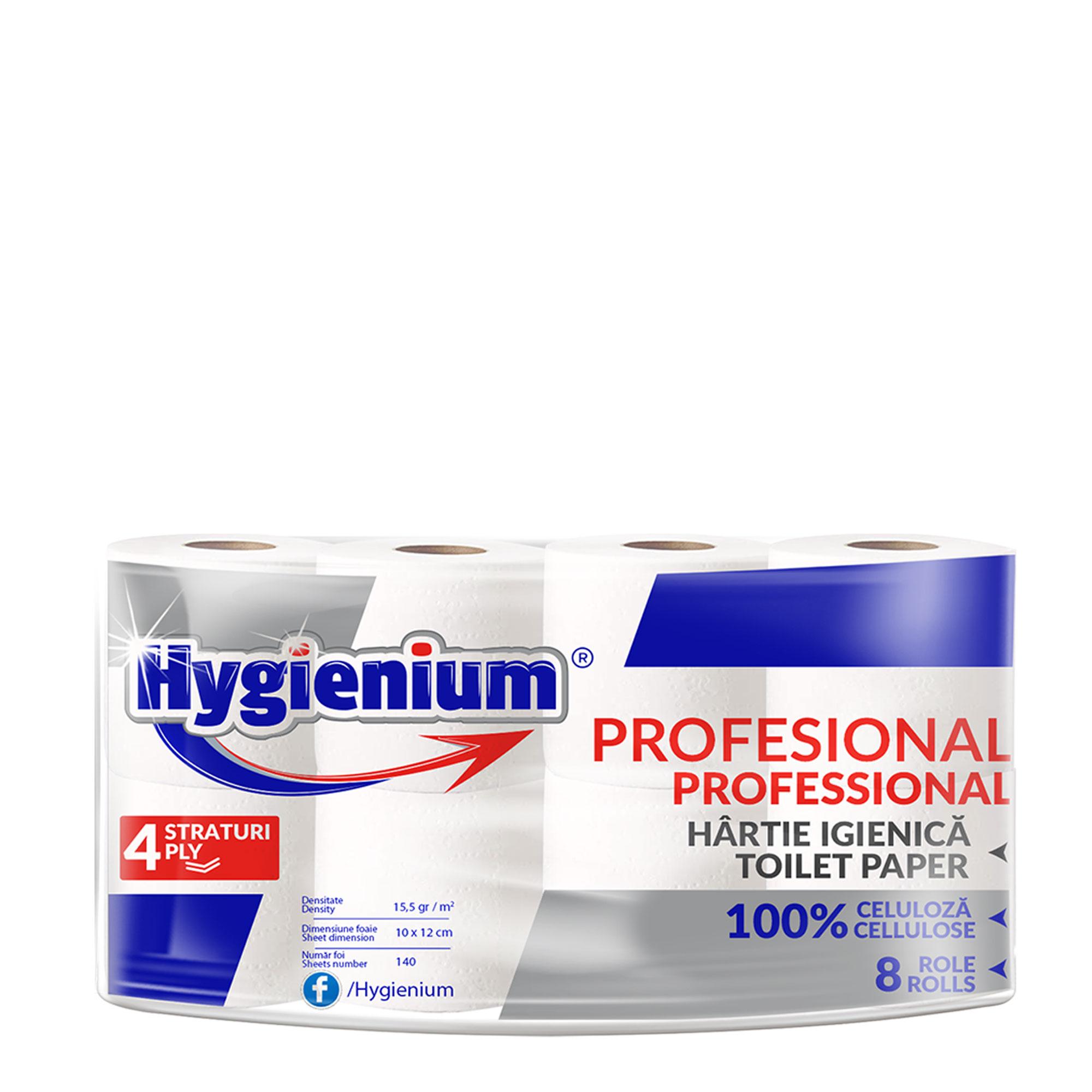Hygienium Professional Toilet Paper 8 rolls