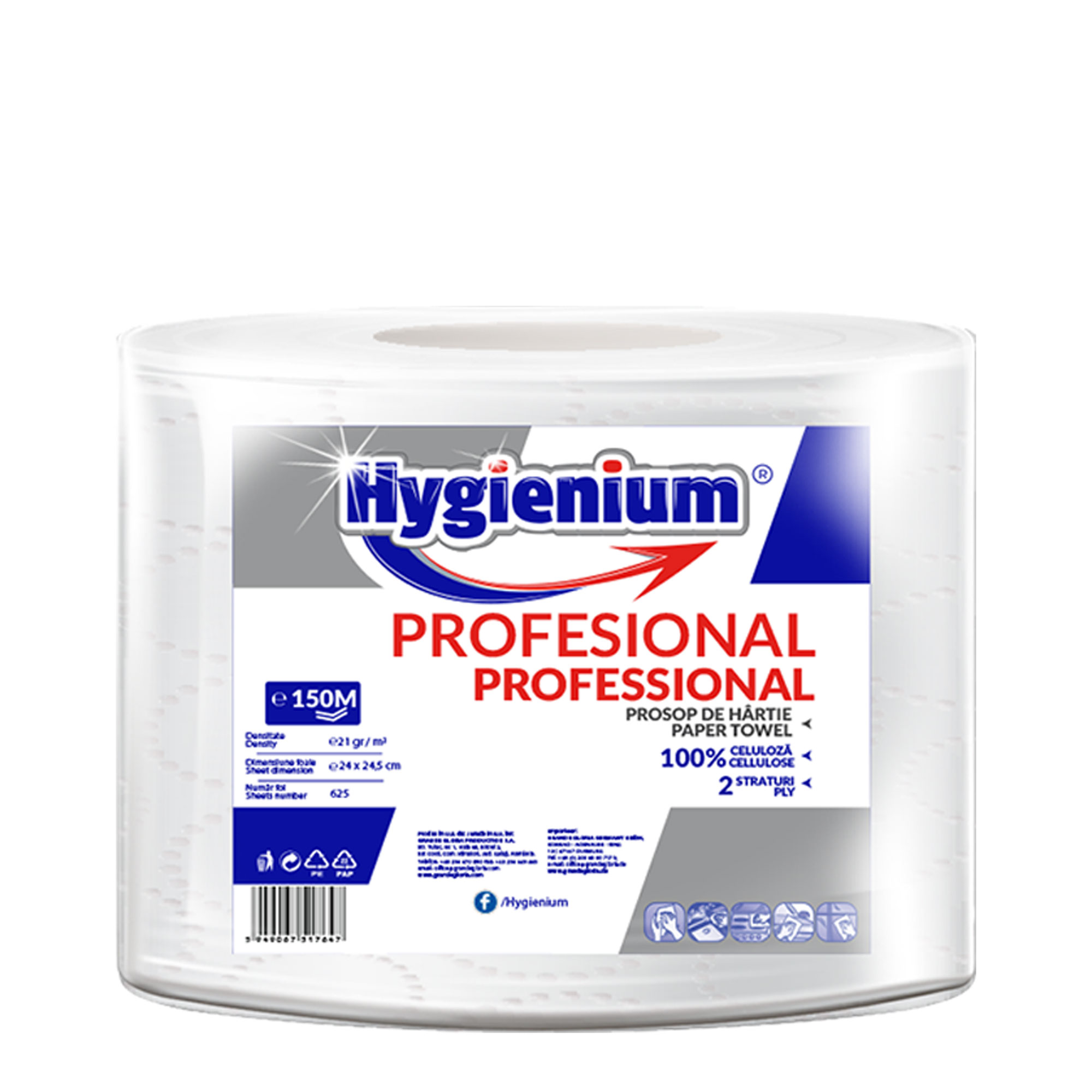 Hygienium Professional Paper Towel 150 M
