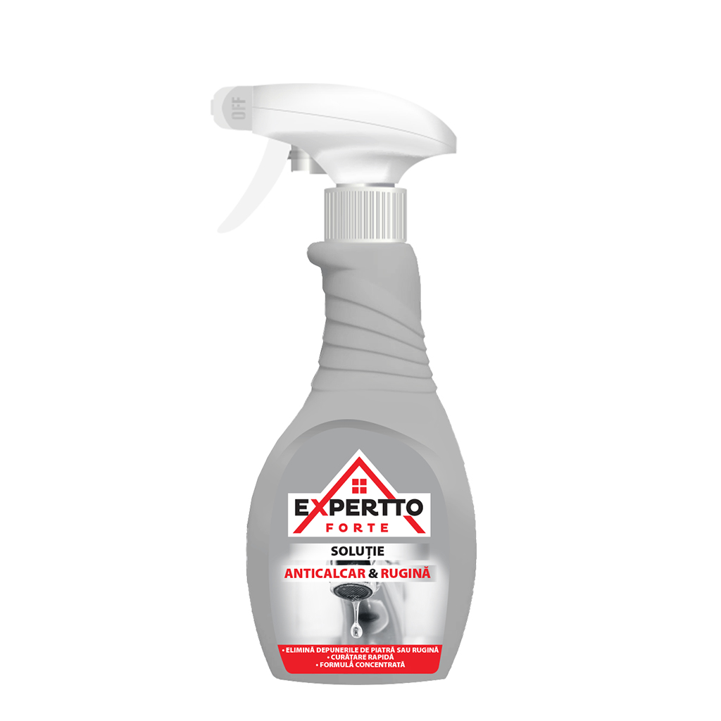 Expertto Forte Anticalcar and Rust Cleaning Solution