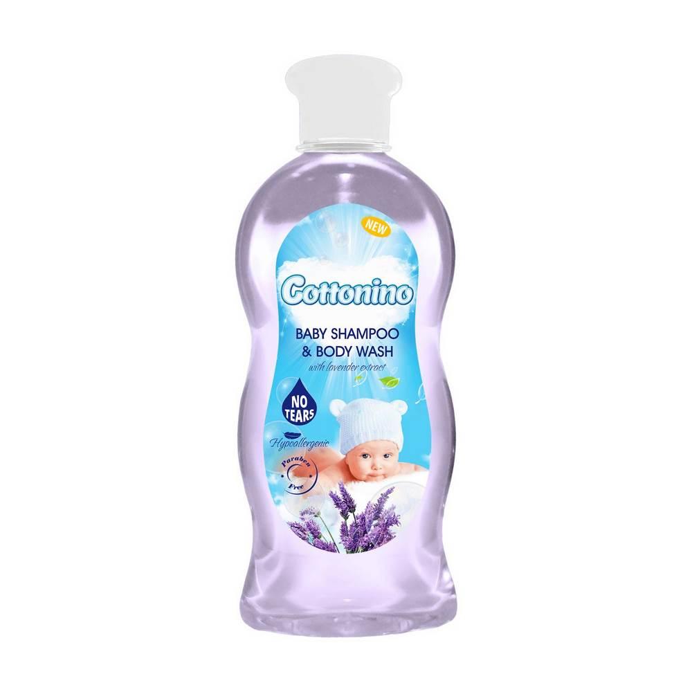 COTTONINO BABY SHAMPOO & BODY WASH LAVENDER