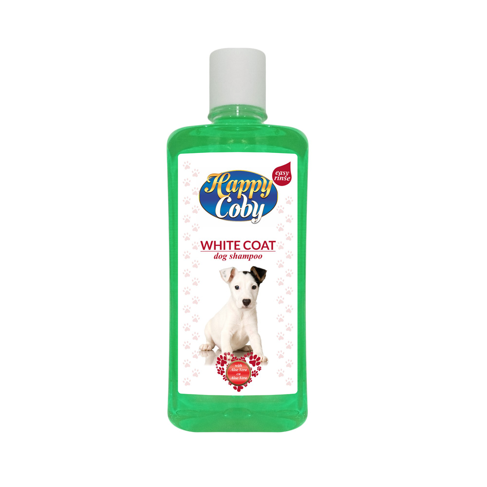 HAPPY COBY DOG SHAMPOO WHITE COAT